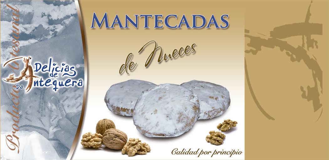 Baño Blanco Para Roscos:MANTECADA DE NUECES